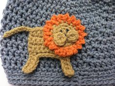 This listing is for my lion and elephant appliques crochet pattern. This pattern is offered a digital file (pdf format) available for you to