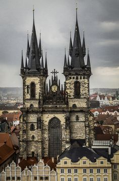 Old Town Square in Prague, Czech Republic by giordano.donnie