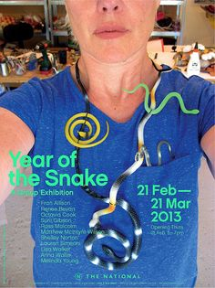 """The National -   """"Year of The Snake"""", our first exhibition for 2013,   works by contemporary jewellers Lisa Walker, Renee Bevan, Melinda Young, Lauren Simeoni, Ross Malcolm, Shelley Norton, Fran Allison, Anna Wallis, Suni Gibson, Matthew McIntyre-Wilson, & Octavia Cook.      Image: Lisa Walker, Necklace, 2011"""