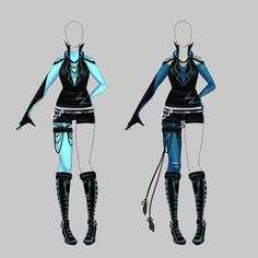 Outfit design - 166 - closed by LotusLumino on DeviantArt