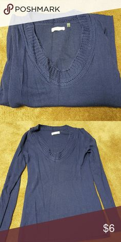 Martin & Osa scoop neck sweater Martin & Osa scoop neck sweater purple/blue Large Martin & Osa Sweaters Crew & Scoop Necks