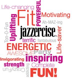 We asked you, our customers, to describe #Jazzercise to a friend in one word and here are just a few of your amazing responses!
