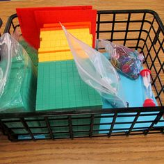Here's a nice post on controlling the chaos that sometimes comes with using manipulatives in math.