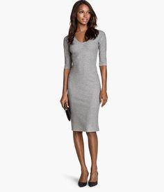 Ribbet kjole | Product Detail | H&M