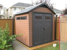 Another @keterplastics garden shed we built from @HomeDepot