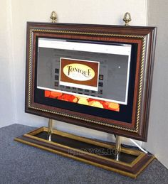 steampunk tunning LCD monitor by gravez.ro