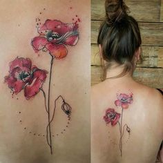 Get Some Inspiration For Your Watercolor Tattoos