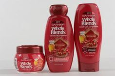 Cranberry is delicious for your hair. Color Care Hair Care with Argan Oil & Cranberry Extracts Color Care Mask, Color Care Shampoo, and Color Care Conditioner by Garnier, $4.50-$7 at garnierusa.com.