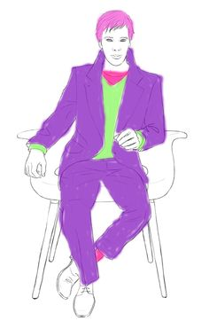 Color Your Own Benedict Cumberbatch