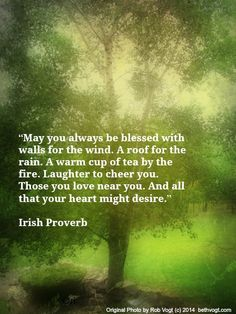 Irish blessing 3.10.14