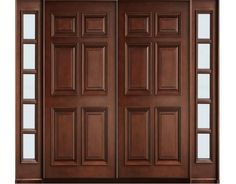 This is Solid Wood Main Double Door. Code is Product of Doors - Diyar wood 10 Panel door size is 6 by 8 - Solid Wood Doors that are available in various specifications and materials based on the clients Al Habib Interior Doors For Sale, Door Design Interior, Interior Barn Doors, Exterior Doors, Wooden Main Door Design, Double Door Design, Front Door Design, Double Front Entry Doors, Indoor Barn Doors