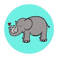 turquoise elephant decor - Google Search