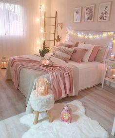 Best 27 Room Decor Bedroom Design Ideas For Your Inspiration Room Decor Bedroom, Room Ideas Bedroom, Stylish Bedroom, Girl Bedroom Decor, Bedroom Makeover, Room Decor, Aesthetic Bedroom, Small Bedroom, Bedroom Furniture Design