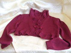 Cardigan   Golf - copri spalle bimba cotone o lana - un prodotto unico di  dorazimorena 796bd6eeac86