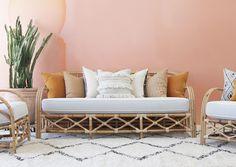 Soco Rattan Sofa | Naturally Cane Rattan and Wicker Furniture