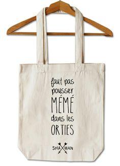 Tote Bag #Sac Mémé de Shaman sur DaWanda.com