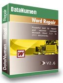 DataNumen Word Repair 2.6 is released on November 9, 2017 - Support Windows 10. - Support Office 2016. - Fix some bugs.  https://www.datanumen.com/word-repair/