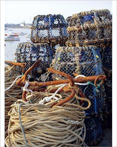 size: Photographic Print: Lobster Pots, Normandy, France Poster by Michael Busselle : Artists Fine Art Prints, Framed Prints, Canvas Prints, Normandy France, Your Spirit Animal, Poster Size Prints, 500 Piece Jigsaw Puzzles, Photo Greeting Cards, Fine Art Paper