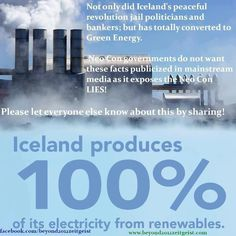 Awesome Awesome Awesome. Should be noted that they have a geothermal energy source natural to the country :)