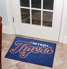"MLB - Detroit Tigers Starter Rug 19""x30"""