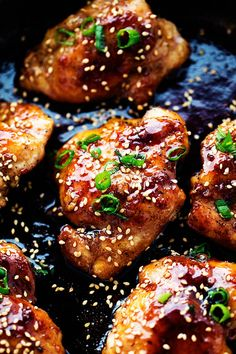 Tender and juicy chicken breasts that get coated in a sticky sweet asian sauce. This meal is ready in just ...