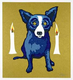 George Rodrigue The Golden Flame