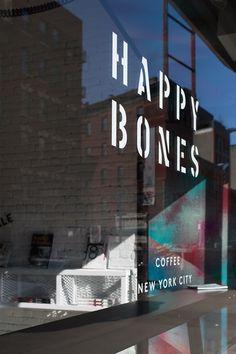 Happy Bones, NYC // Best Coffee Shops #Trottermag