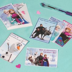 Frozen-Inspired Printable Valentines | Spoonful