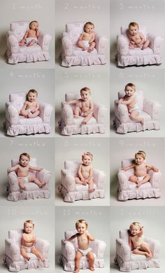 Month by month photo idea - Baby Hair Newborn Pictures, Baby Pictures, 1 Month Old Baby, Fun Baby Announcement, Milestone Pictures, Baby Girl Crochet Blanket, Monthly Baby Photos, Baby Shower Favors Girl, Baby Album