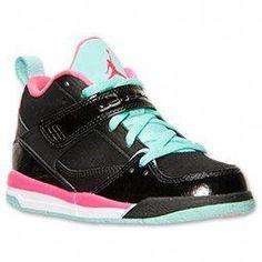 eaf67a3e32d078 Girls  Little Kids  Jordan Flight 45 Basketball Shoes