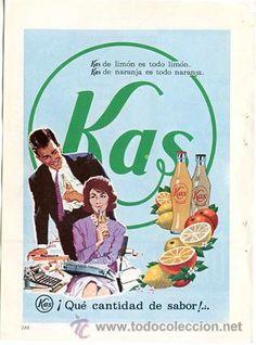 Página de publicidad Original *KAS*. Año 1962 --- 13,2cm x 18,7cm
