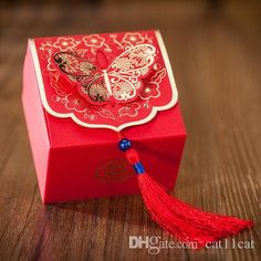 Chinese Red Candy Box, Wedding Candy Boxes, Wedding Favor Gift Box With Ribbon Wedding Favor Boxes Wedding Favor Box Chinese Boxes for Party Favors Online with $20.66/Piece on Cat11cat's Store | DHgate.com