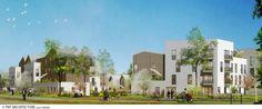 TNT ARCHITECTURE - Project - 82 logements mixtes - écoquartier le Sycomore, Bussy-Saint-Georges