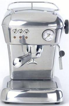 Vintage espresso machines - Ascaso Dream vintage cappuccino coffee machine    appliancist.com