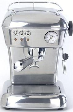 Vintage espresso machines - Ascaso cappuccino coffee machine.
