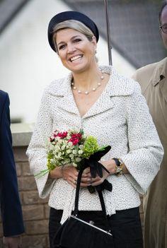 Queen Maxima at the opening of the Fioretticollege in Hillegom