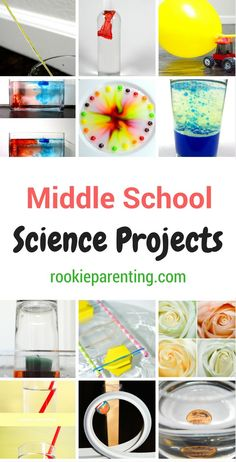 Middle School Science Project Ideas   Science Experiments For Kids