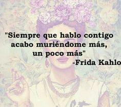 Imagen de frida kahlo, frases, and Frida