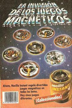 Publicidad cacao soluble  Nocilla Instan - años 80