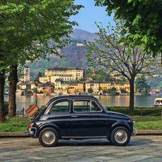 Lake Orta#Italy#Fiat 500#