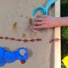 Keep bugs out of your sandbox with a little cinnamon. #vine #lowesfixinsix