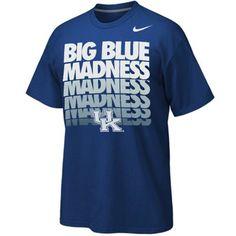 #Fanatics  Nike Kentucky Wildcats Midnight Madenss T-Shirt - Royal Blue