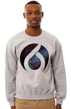 ORISUE The Cosmos Crewneck Sweatshirt in Heather Gray - Karmaloop.com