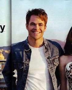 Chris Pine for Glamour