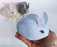 Paper Toy, Diy Paper, Easter Gift, Easter Bunny, Fluffy Bunny, Mini Eggs, Favor Boxes, Great Friends, Decoration