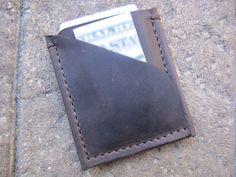 Mens Wallet - Mens Leather Wallet-Leather Wallet-Leather Card Holder-Slim Wallet-Minimalist Wallet - Gift -
