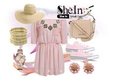 """""""Shein Love 3"""" by amra-piric ❤ liked on Polyvore featuring Kenneth Cole, Converse, Rip Curl, Michael Kors and Sheinside"""