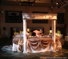 Wow, look at how this bar got jazzed up at a Night at the Museum school auction theme.  More details at http://www.redappleauctions.com/school-auction-theme-night-at-the-museum/