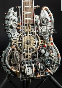 Steampunk Tendencies   Steampunk Guitars by Andy Corporon Check out...