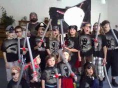 Pirátská (táborová hymna pirátů v Česticích) - YouTube